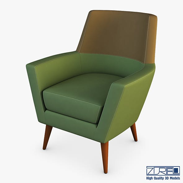 Doble armchair - 3DOcean Item for Sale