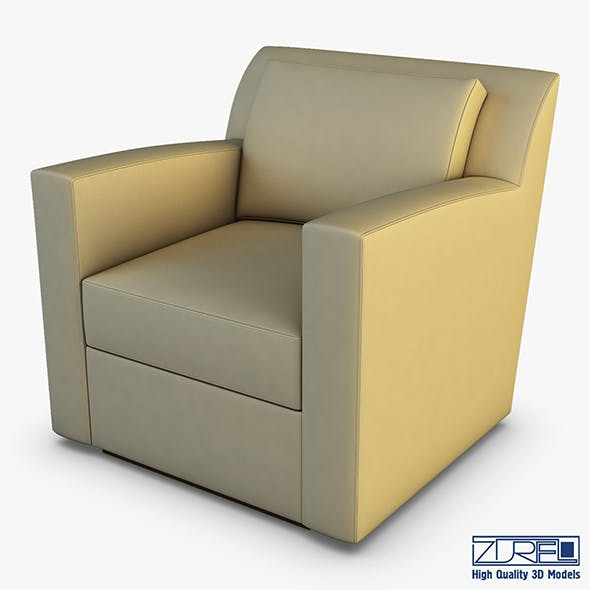 Entrada lounge chair - 3DOcean Item for Sale