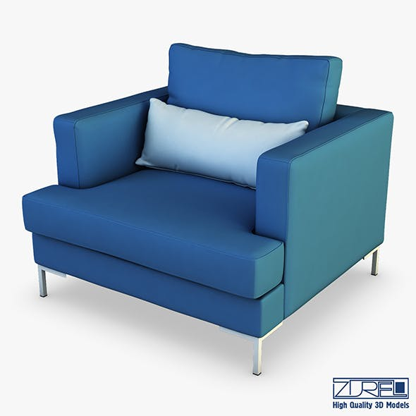 Karea armchair - 3DOcean Item for Sale