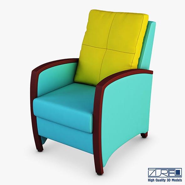 Tiffany armchair - 3DOcean Item for Sale