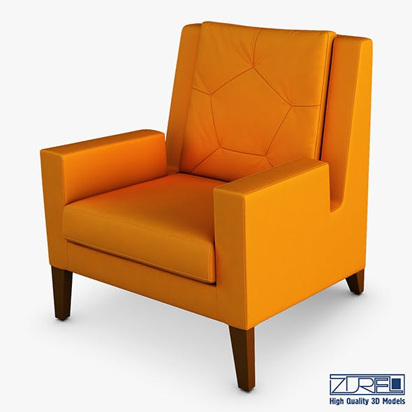 Geo armchair