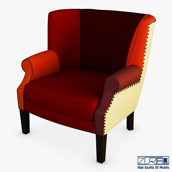 Casis armchair - 3DOcean Item for Sale