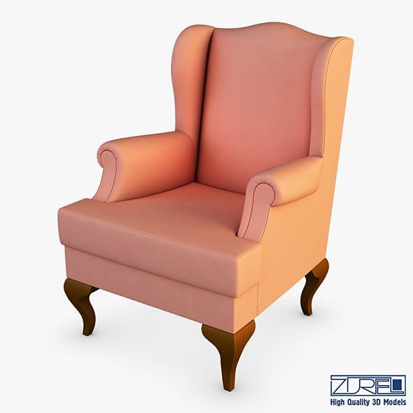 Rovance armchair - 3DOcean Item for Sale