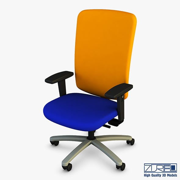 Exori office chair - 3DOcean Item for Sale