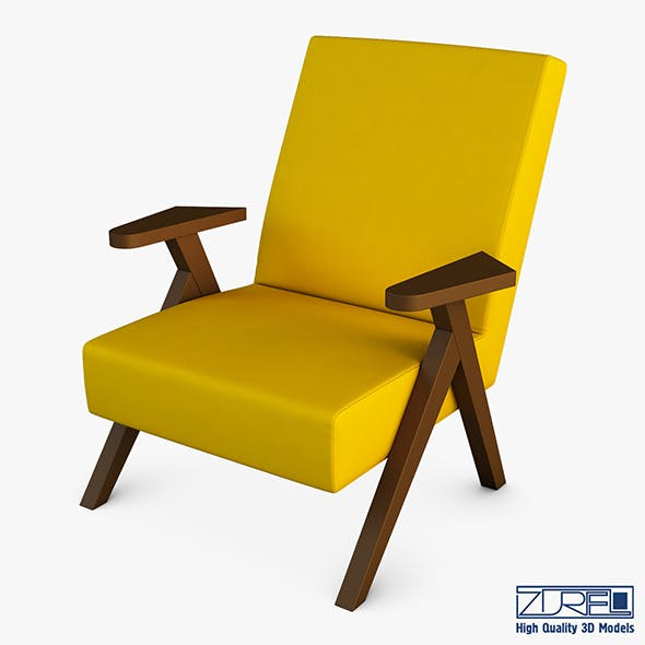 Hamary chair - 3DOcean Item for Sale