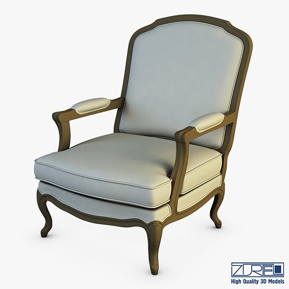 Boka armchair - 3DOcean Item for Sale