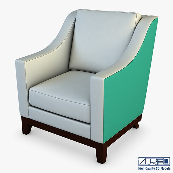 Lounge chair 301 - 3DOcean Item for Sale