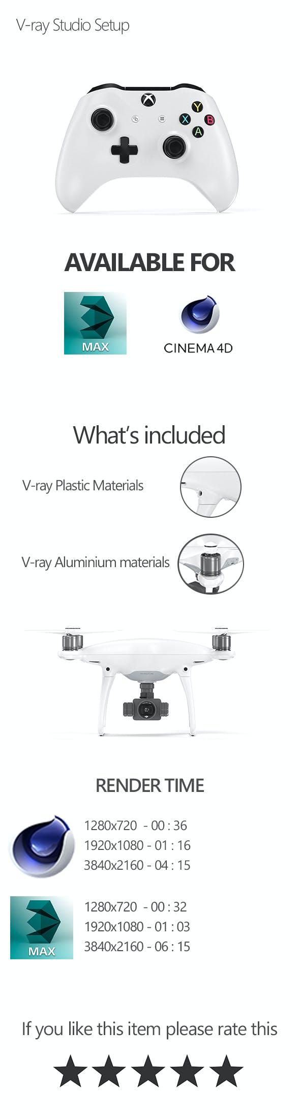 V-ray Scene Setup - 3DOcean Item for Sale