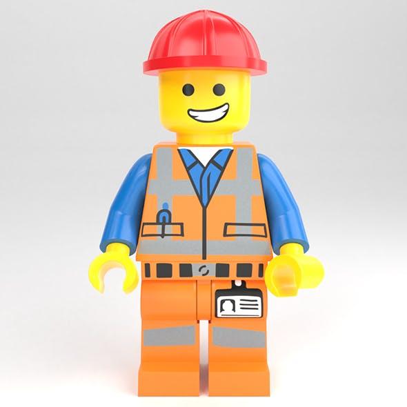 LEGO minifigure - Construction worker