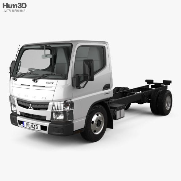Mitsubishi Fuso Canter (515) City Single Cab Low Roof Chassis Truck with HQ interior 2016