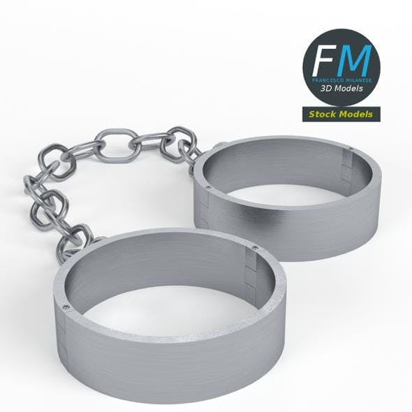 Ankle shackles - 3DOcean Item for Sale