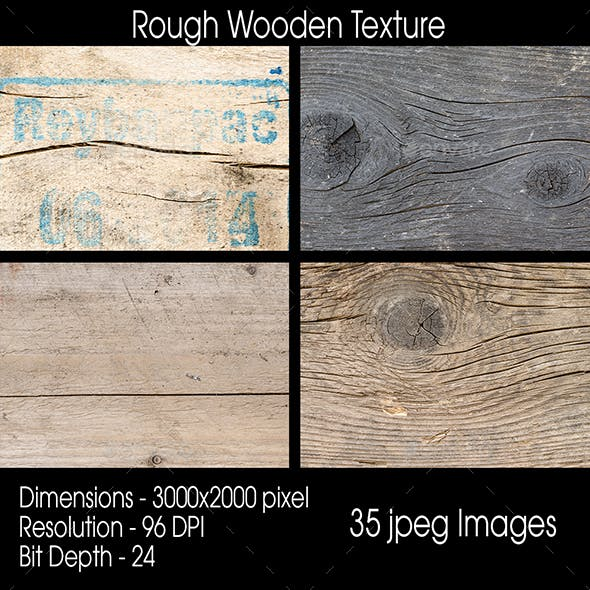 Rough Wooden Texture 35 Images