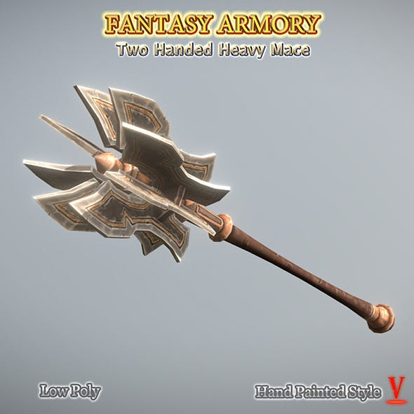 Two Handed Heavy Mace 01