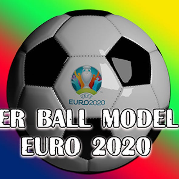 Soccer ball model for EURO 2020