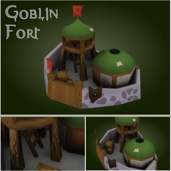 Goblin Fort RTS - 3DOcean Item for Sale