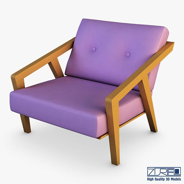 Gerand chair - 3DOcean Item for Sale