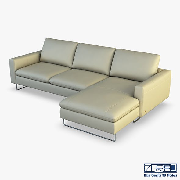 U116 sofa - 3DOcean Item for Sale