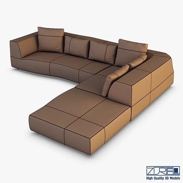 Iddesign bend sofa - 3DOcean Item for Sale
