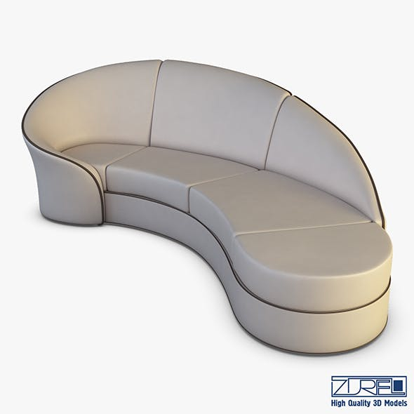 Milky Way Sofa - 3DOcean Item for Sale