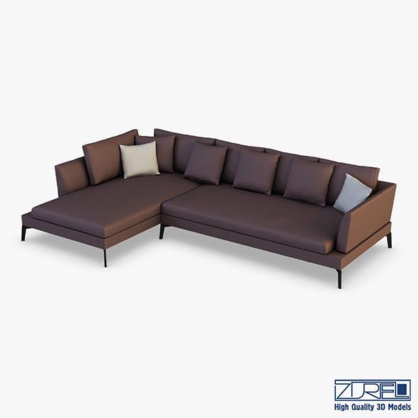 Diva sofa - 3DOcean Item for Sale