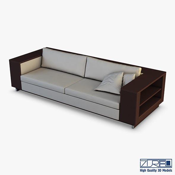 ICS Gran Sofa - 3DOcean Item for Sale