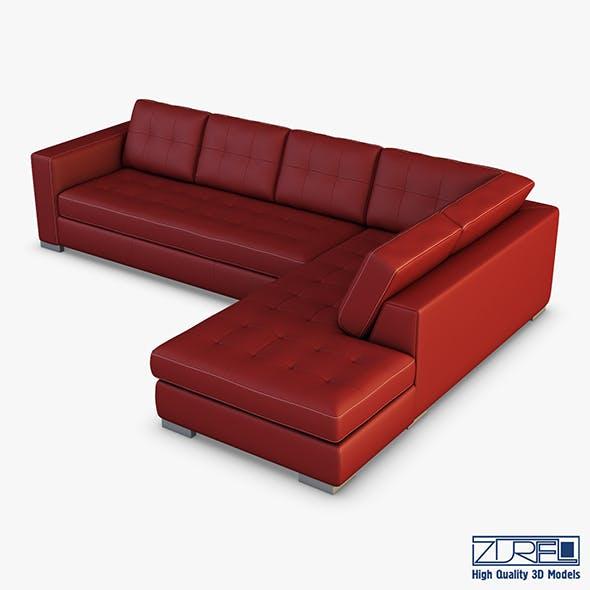 U093 sofa - 3DOcean Item for Sale