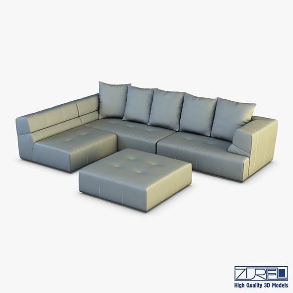 Mercury sofa - 3DOcean Item for Sale