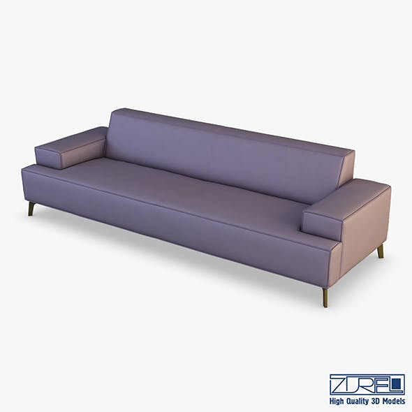 Mico sofa - 3DOcean Item for Sale