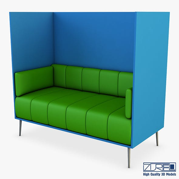 Brama sofa - 3DOcean Item for Sale