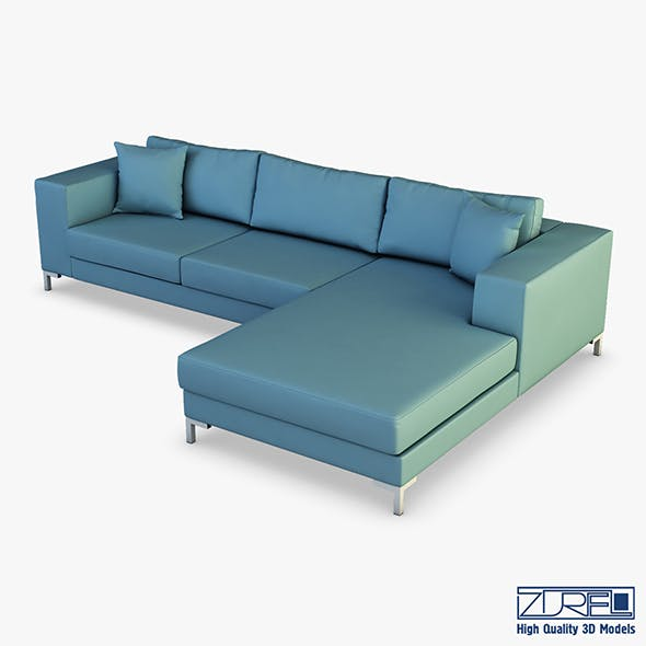 Solo sofa - 3DOcean Item for Sale