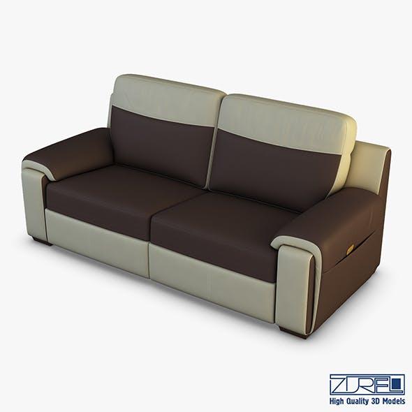 U170 sofa v 1 220cm - 3DOcean Item for Sale