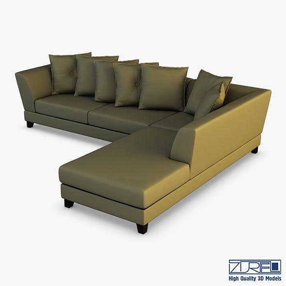 Izabale sofa - 3DOcean Item for Sale