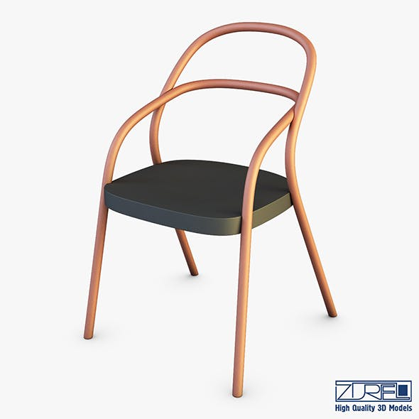 Chair ton 002 - 3DOcean Item for Sale