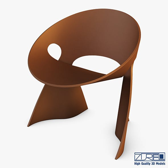 Mobius Chair Frans Schrofer - 3DOcean Item for Sale