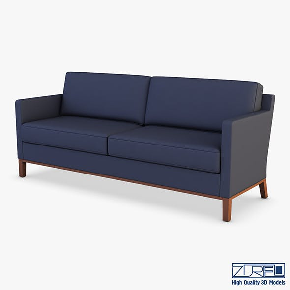 KM-Classic Low Sofa - 3DOcean Item for Sale