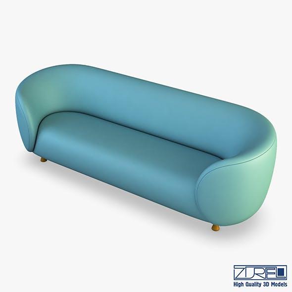 Ovalio sofa - 3DOcean Item for Sale