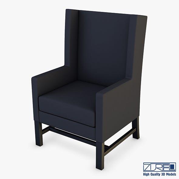 Black armchair - 3DOcean Item for Sale