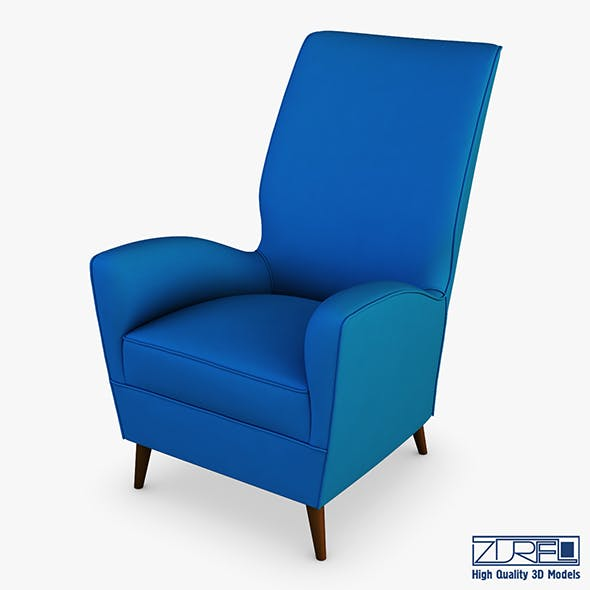 Paire de fauteuils 1950 Paolo Buffa armchair