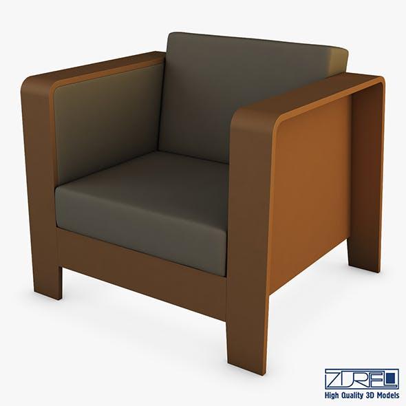 Qo2 chair by Erik Jorgensen armchair