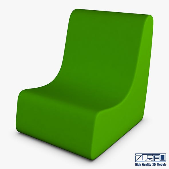 Serenity chair - 3DOcean Item for Sale