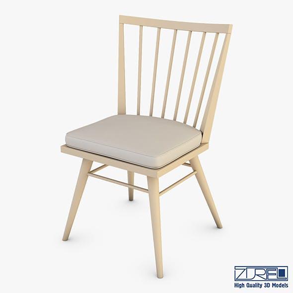 Midcentury modern chair ensemble - 3DOcean Item for Sale