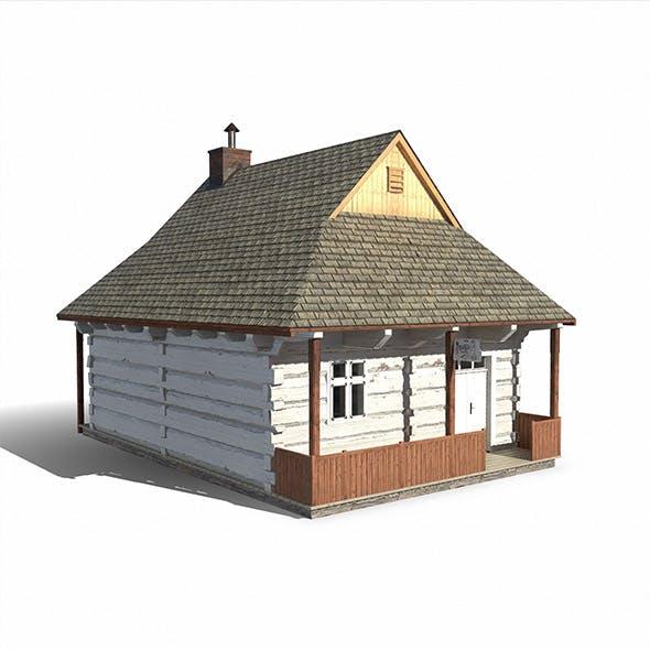 Barber House  - Slav Architecture - 3DOcean Item for Sale
