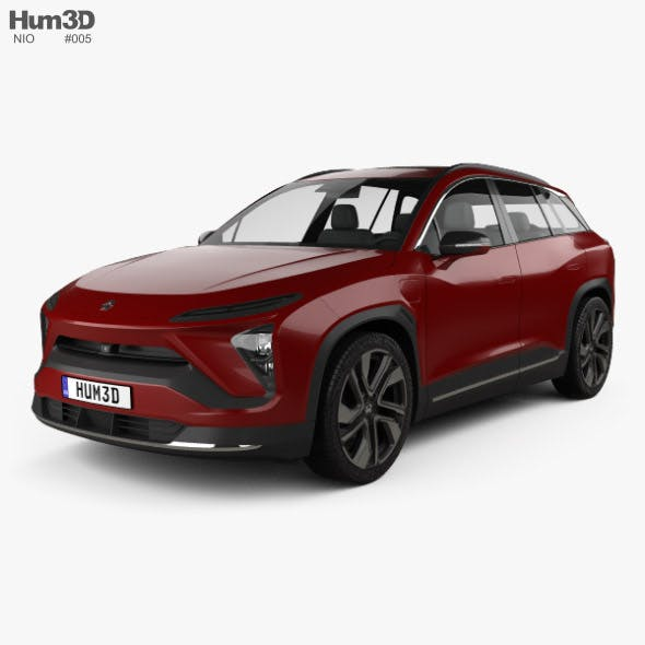 NIO ES6 2019 - 3DOcean Item for Sale