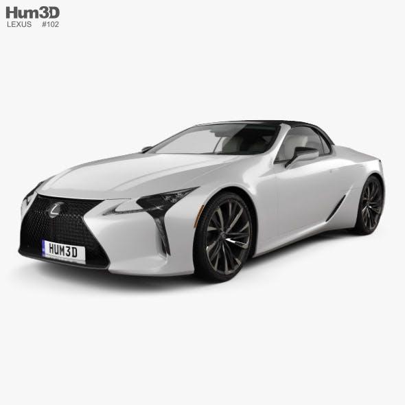 Lexus LC convertible 2019 - 3DOcean Item for Sale