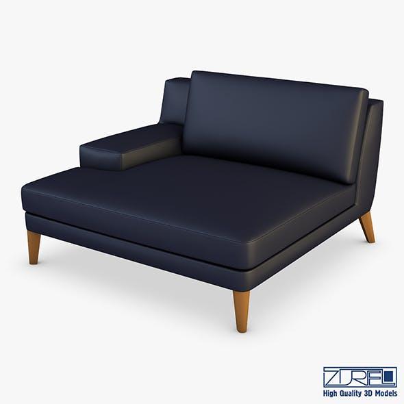 Roche Bobois Playlist Large 3 Seat Chaise - 3DOcean Item for Sale