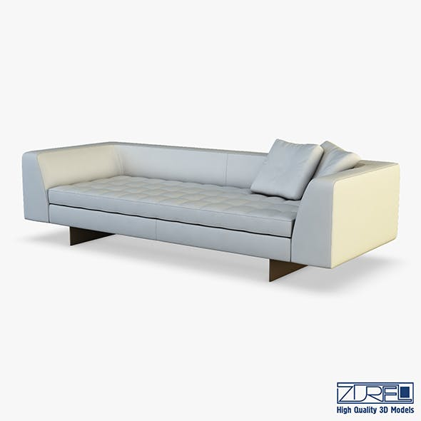 Haero sofa - 3DOcean Item for Sale