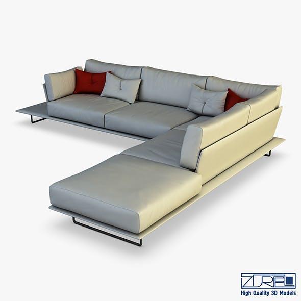 Vessel sofa v 1 - 3DOcean Item for Sale