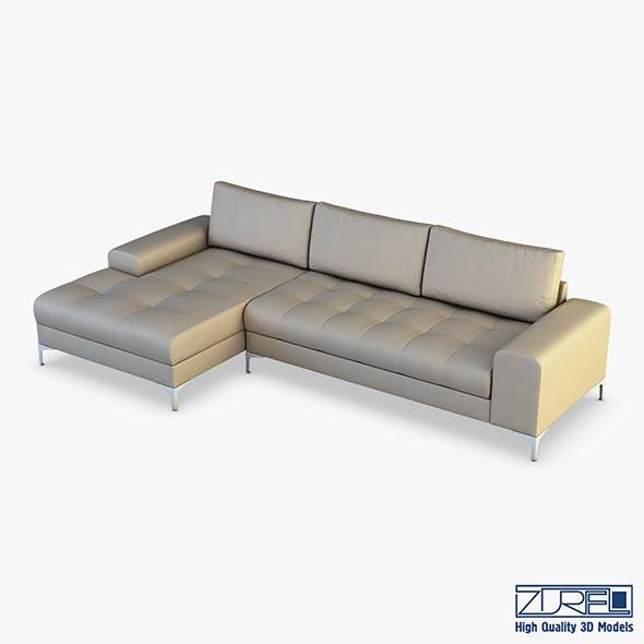 Monaco sofa - 3DOcean Item for Sale