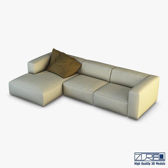 Rossi sofa - 3DOcean Item for Sale