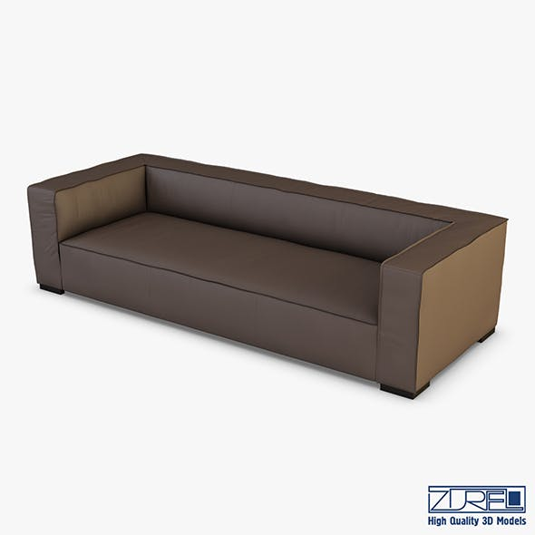 Belluchi sofa - 3DOcean Item for Sale